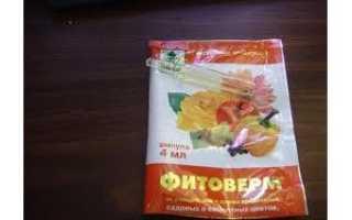 Как использовать инсектицид Фитоверм