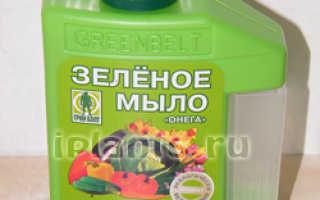 Зеленое мыло — комплексное лекарство для растений
