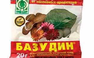 Инсектицид Базудин: подробное описание и способы применения