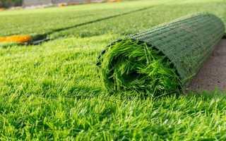 Искусственный газон: виды и правила укладк